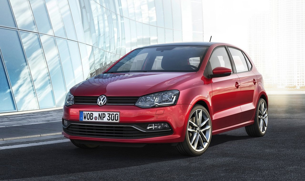 car rental in rodos - vw polo